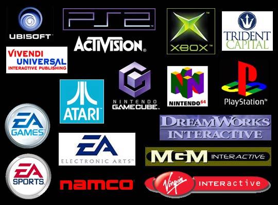 popular game logos